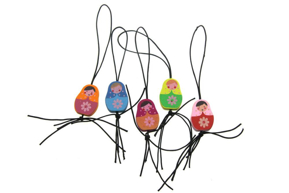 Gelukspoppetjes matroesjka multicolour