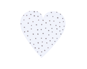 Hartjes stickers stipjes 10 stuks