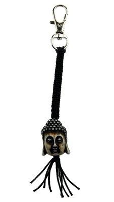 Sleutelhanger Boeddha hoofd luxe