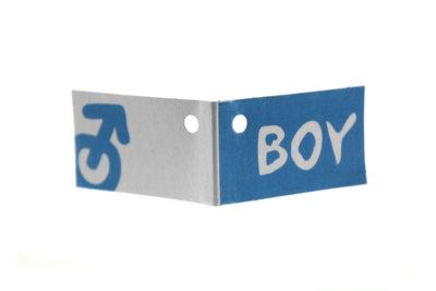 Kaartjes voor geboortebedankjes boy