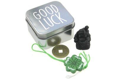 Geluksdoosje blikje good luck
