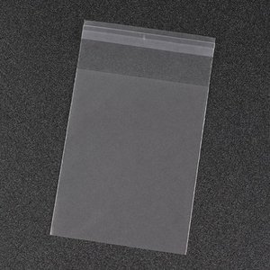 Cellofaan zakjes frosted mat 5.5 x 8.5 cm 10 stuks