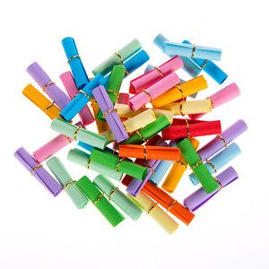 Wensbriefje kleuren mix