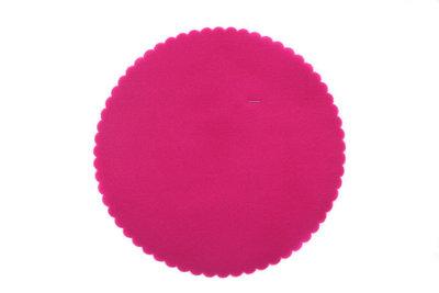 50 Tule cirkels Fuchsia